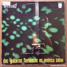 Discos de vinilo: PACO DE LUCIA Y RAMON DE ALGECIRAS LP PHILIPS EDIC ESPAÑA. Lote 184432655