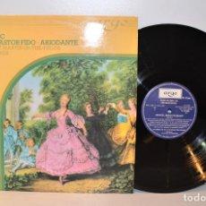 Discos de vinilo: HANDEL BALLET MUSIC - ST. MARTIN FIELDS, N. MARRINER - ARGO 9-41001 ESPAÑA 1982 NM/VG++. Lote 184433052