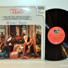Discos de vinilo: MICHEL DENS - CHANTS DE NOEL - EMI FRANCIA C053-10.932 EX/EX. Lote 184437971