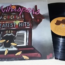 Discos de vinilo: LP - THE WHISPERS - GREATEST HITS - 1° EDICIÓN MADE IN USA - THE WHISPERS. Lote 184439522