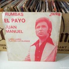 Discos de vinilo: EL PAYO JUAN MANUEL. Lote 184440371