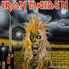 Discos de vinilo: LP IRON MAIDEN VINILO HEAVY METAL. Lote 184450590