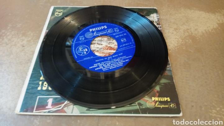 Discos de vinilo: Festival de San remo 1959.canta Arturo testa. Piove. Ep vinilo - Foto 2 - 184453801