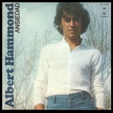 Discos de vinilo: XX VINILO, ALBERT HAMMOND, ANSIEDAD Y QUIEREME MUCHO.. Lote 184454671