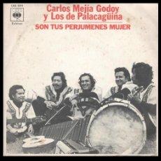 Discos de vinilo: XX VINILO, CARLOS MEJIA GODOY Y LOS DE PALACAGUINA, ALFORJA CAMPESINA Y SON TUS PERJUMENES MUJER.. Lote 184455355