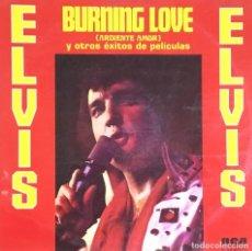 Discos de vinilo: ELVIS PRESLEY - BURNING LOVE. Lote 184459211