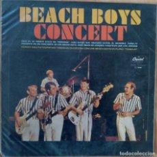 Discos de vinilo: BEACH BOYS CONCERT. EMI-CAPITOL, LA FABRICA VENEZOLANA DE DISCOS. Lote 184459305