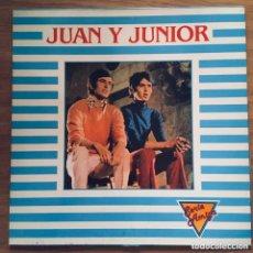 Discos de vinilo: JUAN Y JUNIOR LP SERIE AMIGA EXCELENTE CONSERVACION. Lote 184463371