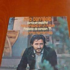 Discos de vinilo: SINGLE DE PINO DONAGGIO ANOCHE EN LA PLAYA AÑO 1971. Lote 184472840