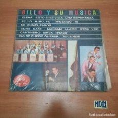 Discos de vinil: BILLO Y SU MÚSICA. Lote 184477165
