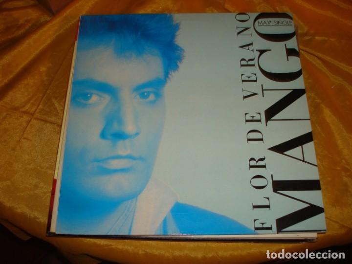 MANGO. FLOR DE VERANO. ARIOLA, 1987. MAXI-SINGLE. IMPECABLE (#) (Música - Discos de Vinilo - Maxi Singles - Canción Francesa e Italiana)