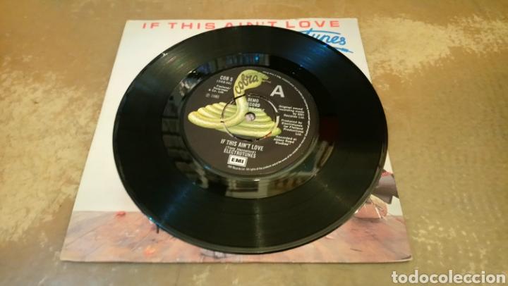 Discos de vinilo: Electrotunes – If This Aint Love. Single vinilo 1980. - Foto 2 - 184479152