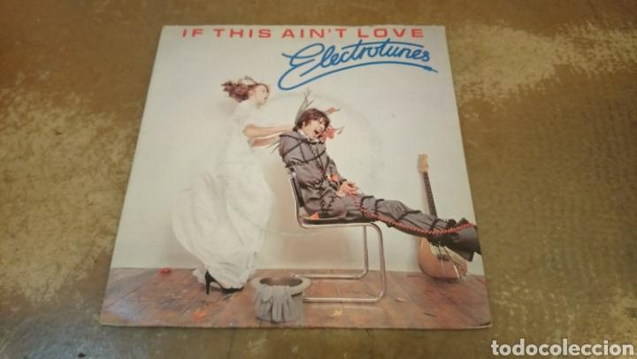 ELECTROTUNES – IF THIS AIN'T LOVE. SINGLE VINILO 1980. (Música - Discos - Singles Vinilo - Reggae - Ska)