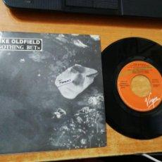 Discos de vinilo: MIKE OLDFIELD NOTHING BUT SINGLE VINILO PROMO 1989 ESPAÑA MISMO TEMA SOL EDITADO EN ESPAÑA MUY RARO. Lote 184484072
