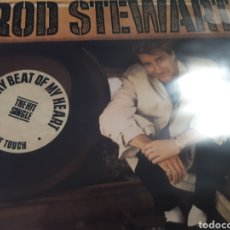 Discos de vinilo: ROD STEWART EVERY BEAT OF MY HEART. Lote 184485307