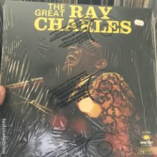 Discos de vinilo: RAY CHARLES ‎– THE GREAT RAY CHARLES 1974. Lote 184486595
