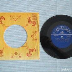 Discos de vinilo: 5 EPS DE LOS BEATLES Y 1 DE PAUL MCCARTNEY ORIGINALES EDITADOS EN LA UNION SOVIETICA. RUSIA RUSOS. Lote 184489941