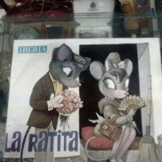 Discos de vinilo: DISCO INFANTIL DE IBERIA - LA RATITA - DISCOS COLUMBIA DE SAN SEBASTIAN EN 1964. Lote 184490631