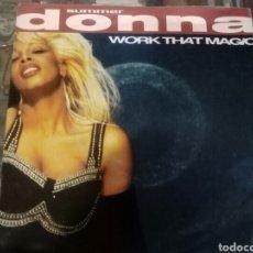 Discos de vinil: DISCO EP DONNA SUMMER - WORK THAT MAGIC DE LA WB 1991. Lote 184491553