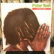 Discos de vinilo: PETER TOSH – MYSTIC MAN_1979. Lote 184492090