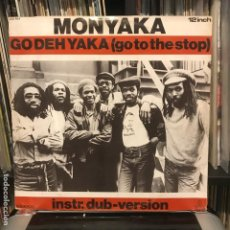 Discos de vinilo: MONYAKA – GO DEH YAKA 1983. Lote 184492628