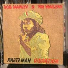 Discos de vinilo: BOB MARLEY & THE WAILERS – RASTAMAN VIBRATION 1976. Lote 184493410