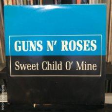 Discos de vinilo: GUNS N' ROSES – SWEET CHILD O' MINE_1988_NUEVECITO. Lote 184494702