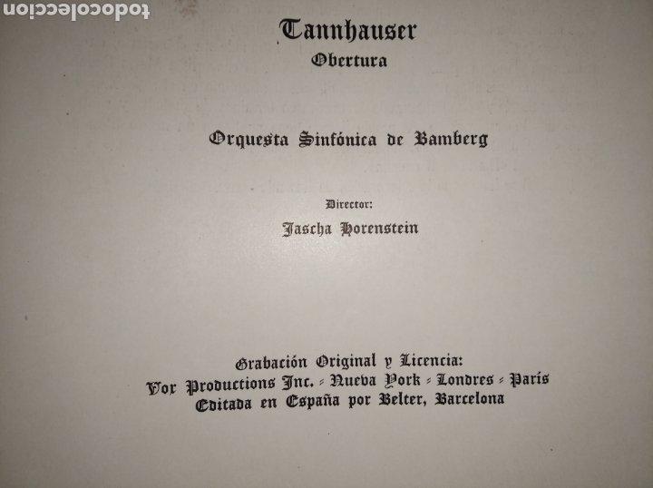 Discos de vinilo: DISCO VINILO RICHARD WAGNER (PRELUDIOS Y OBERTURAS) ESPAÑA BELTER VOX AÑOS 50 - Foto 22 - 149388354