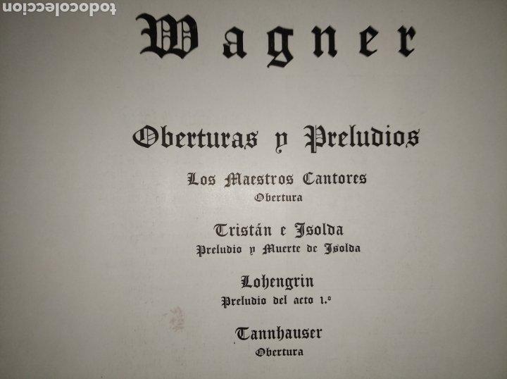 Discos de vinilo: DISCO VINILO RICHARD WAGNER (PRELUDIOS Y OBERTURAS) ESPAÑA BELTER VOX AÑOS 50 - Foto 23 - 149388354