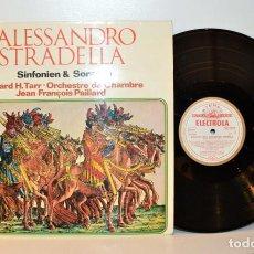 Discos de vinilo: STRADELLA - SINFONIEN SONATEN - E. TARR J. F. PAILLARD - EMI ALEMANIA NM/VG++. Lote 184507480