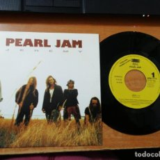 Discos de vinilo: PEARL JAM JEREMY SINGLE VINILO PROMO DEL AÑO 1992 ESPAÑA EPIC MUY RARO 1 SOLO TEMA COMO NUEVO. Lote 184508258