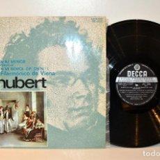 Discos de vinilo: DECCA SXL6092 SCHUBERT CUARTETO EN RE MENOR - CUARTETO FILARMÓNICO DE VIENA, ESPAÑA EX/VG++. Lote 184509020
