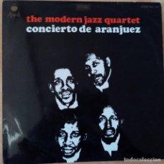 Discos de vinilo: THE MODERN JAZZ QUARTET - CONCIERTO DE ARANJUEZ (1970). Lote 184523178