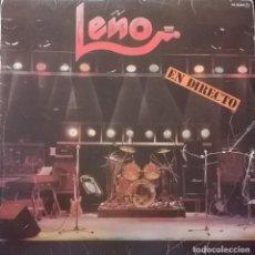 Discos de vinilo: LEÑO – EN DIRECTO, CHAPA DISCOS HS-35049. Lote 184524475