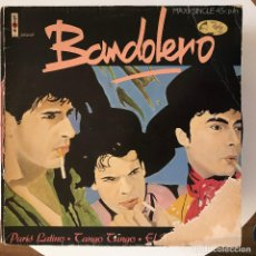 Discos de vinilo: BANDOLERO - PARIS LATINO - 12'' MAXISINGLE VIRGIN 1983. Lote 184525616
