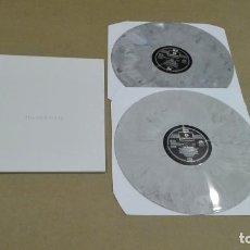 Discos de vinilo: THE BEATLES - THE BEATLES (2LP NO OFICIAL, VINILOS GRISES, GATEFOLD) NUEVO. Lote 184527388