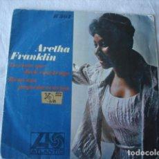 Discos de vinilo: ARETHA FRANKLIN LA CASA QUE JACK CONSTRUYO / REZO UNA PEQUEÑA ORACION. Lote 184531658