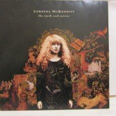 Discos de vinilo: LOREENA MCKENNITT - THE MASK AND MIRROR - 1994 - PRIMERA EDICION GERMANY - FUNDA INTERIOR - VG+/VG+. Lote 184544685