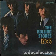 Discos de vinilo: THE ROLLING STONES – 12 X 5 . Lote 184546090