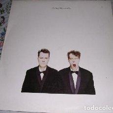 Discos de vinilo: PET SHOP BOYS , ACTUALLY. Lote 184549310