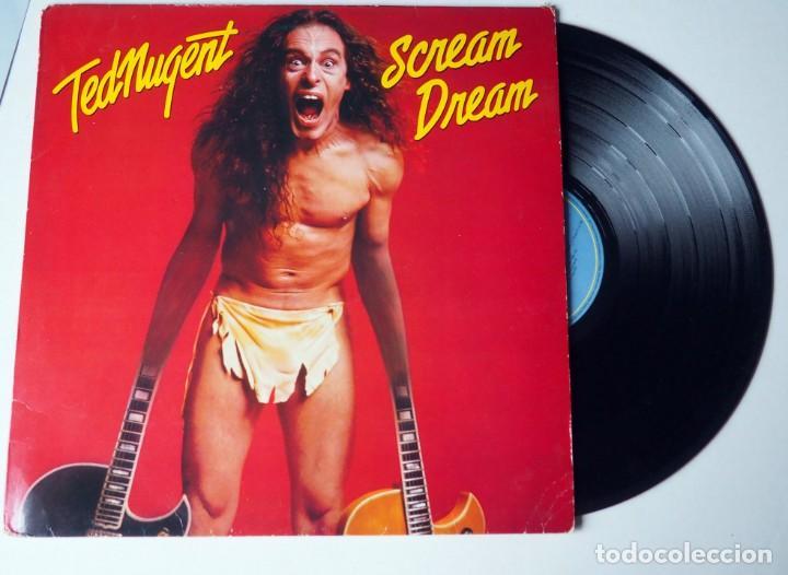 LP. TED NUGENT. SCREAM DREAM. AÑO 1980 (Música - Discos de Vinilo - EPs - Heavy - Metal)