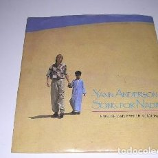 Discos de vinilo: YANN ANDERSON - SONG FOR NADIM (ENGLISH AND FRENCH VERSION). Lote 184551070
