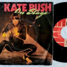 Discos de vinilo: KATE BUSH - ON STAGE - THEM HEAVY PEOPLE / DON'T PUSH YOUR FOOT ON THE HEARTBRAKE...EP ALEMAN 1979 . Lote 184552408