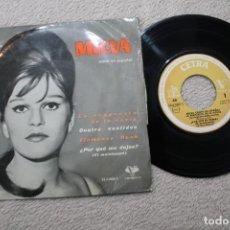 Discos de vinilo: MILVA CANTA EN ESPAÑOL LA RESPUESTA DE LA NOVIA EP MADE IN SPAIN 1962. Lote 184555171