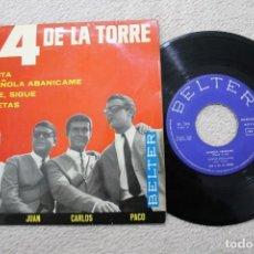 Discos de vinilo: LOS 4 DE LA TORRE MAMITA EP MADE IN SPAIN 1965. Lote 184555443