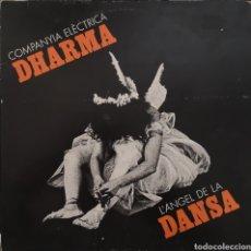Discos de vinilo: COMPANYIA ELECTRICA DHARMA - L' ANGEL DE LA DANSA - PORTADA ABIERTA. Lote 184555866
