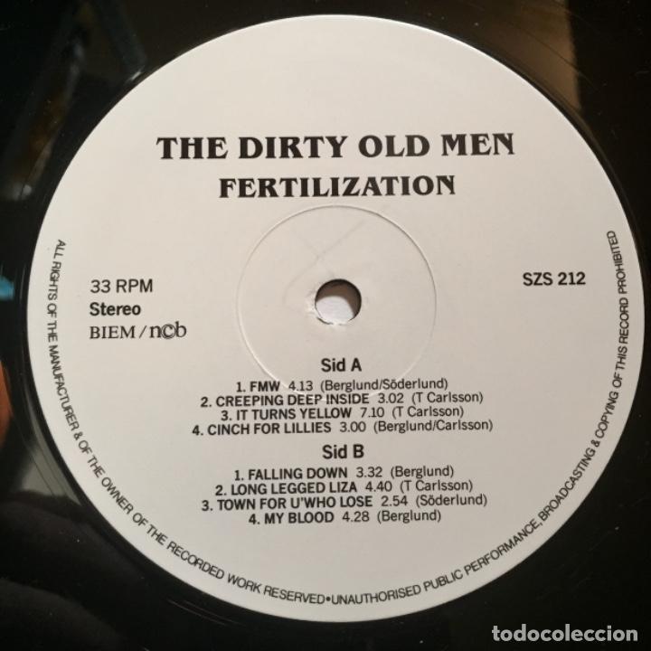 Discos de vinilo: DIRTY OLD MEN FERTILIZATION - Foto 3 - 184558178