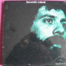 Discos de vinil: LP - FACUNDO CABRAL - MISMO TITULO (SPAIN, RCA RECORDS 1972). Lote 260802735