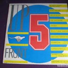 Discos de vinilo: UP FRONT 5 LP SERIOUS RECORDS PRECINTADO 1987 - HOUSE - HIP HOP - ELECTRO DISCO - REMEZCLAS. Lote 184566253