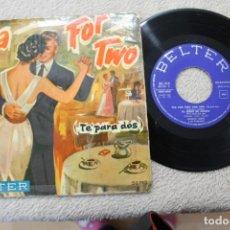 Discos de vinilo: TEA FOR TWO TE PARA DOS ENOCH LIGTH Y SU ORQUESTA EP 1959. Lote 184566745